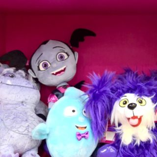 Vampirina Toys and Books, including Vampirina Plush Dolls