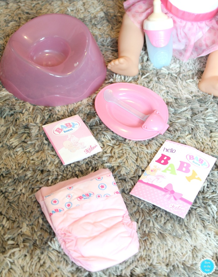 Accessories with Baby Born Interactive Doll