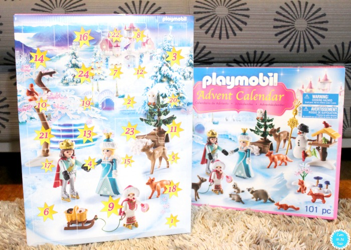 What's in the 2017 Playmobil Advent Calendar: Royal Ice Skating
