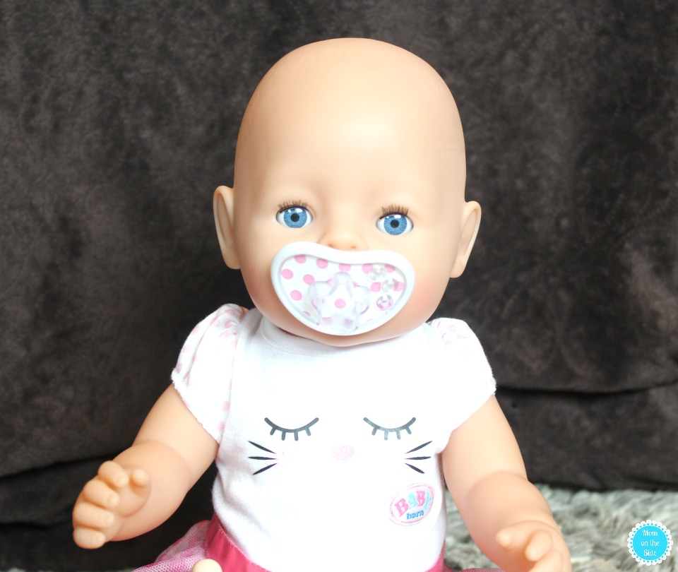 Features of Baby Born Interactive Doll