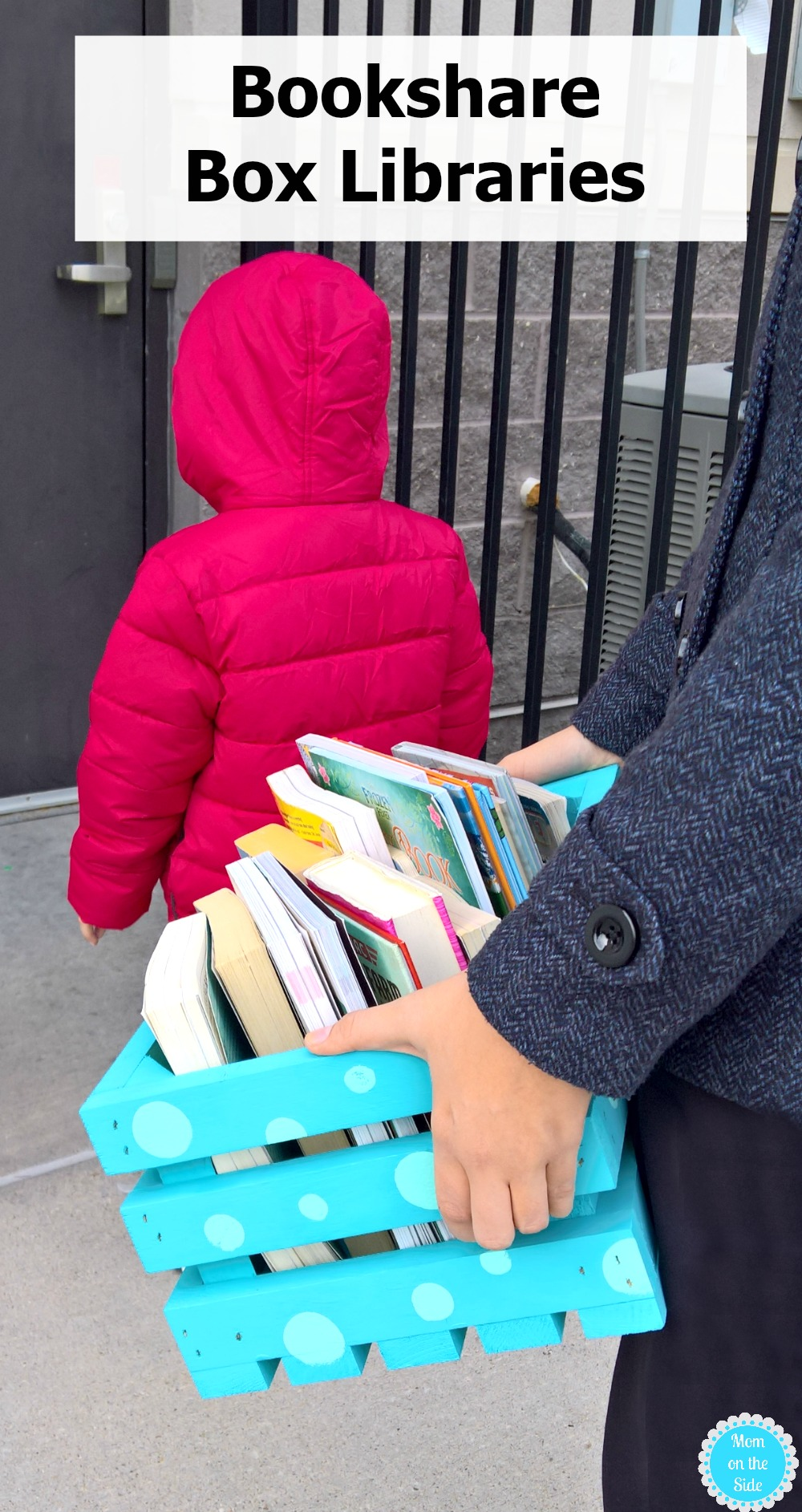 Bookshare Box Libraries are a great idea to make for Family Volunteer Day in November!