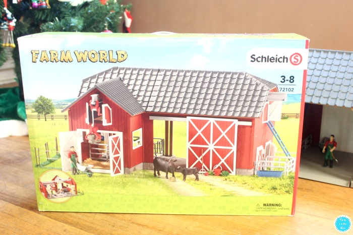 Look Inside the Schleich Farm World Large Red Barn