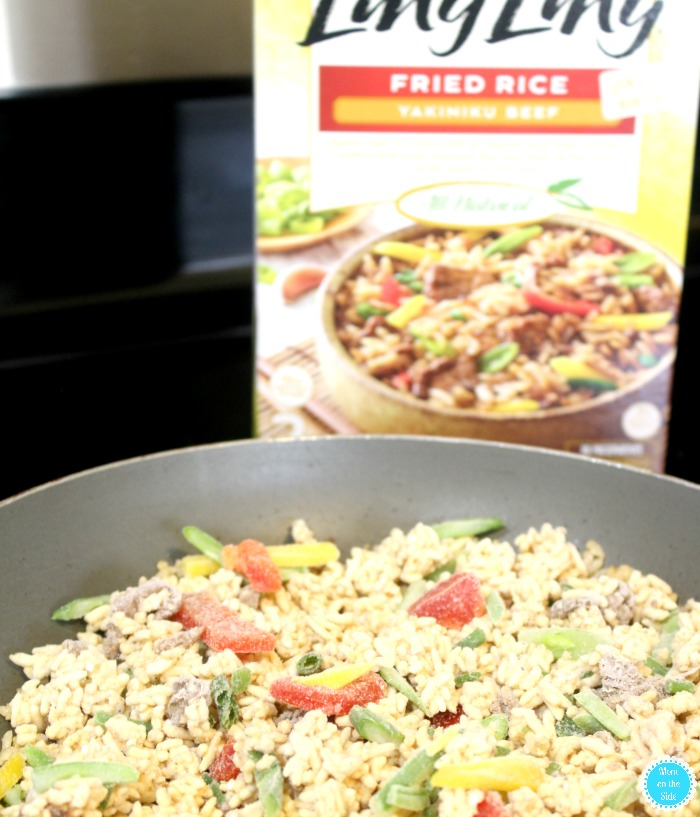 Ling Ling Fried Rice Entrees: Ling Ling Beef
