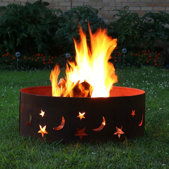 Fire Pit Ring for Garden Lovers