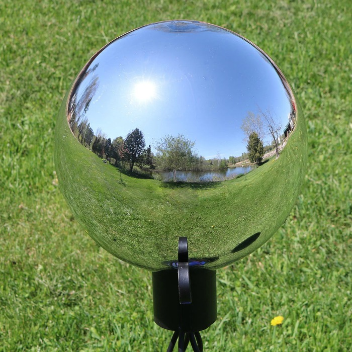Gazing Ball: Garden Decor Gift Idea