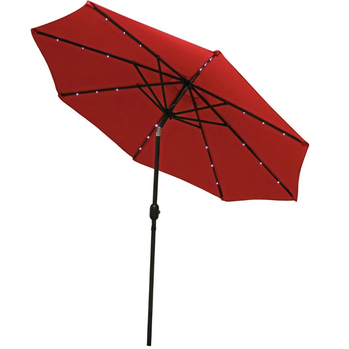 LED Patio Umbrella: Gift Idea for the Garden Lover