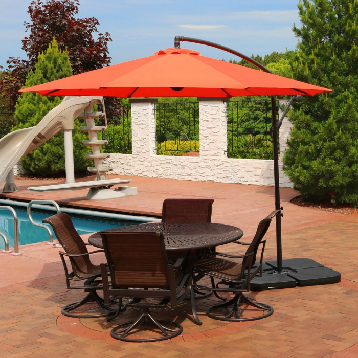 Patio Umbrella for Garden Lovers