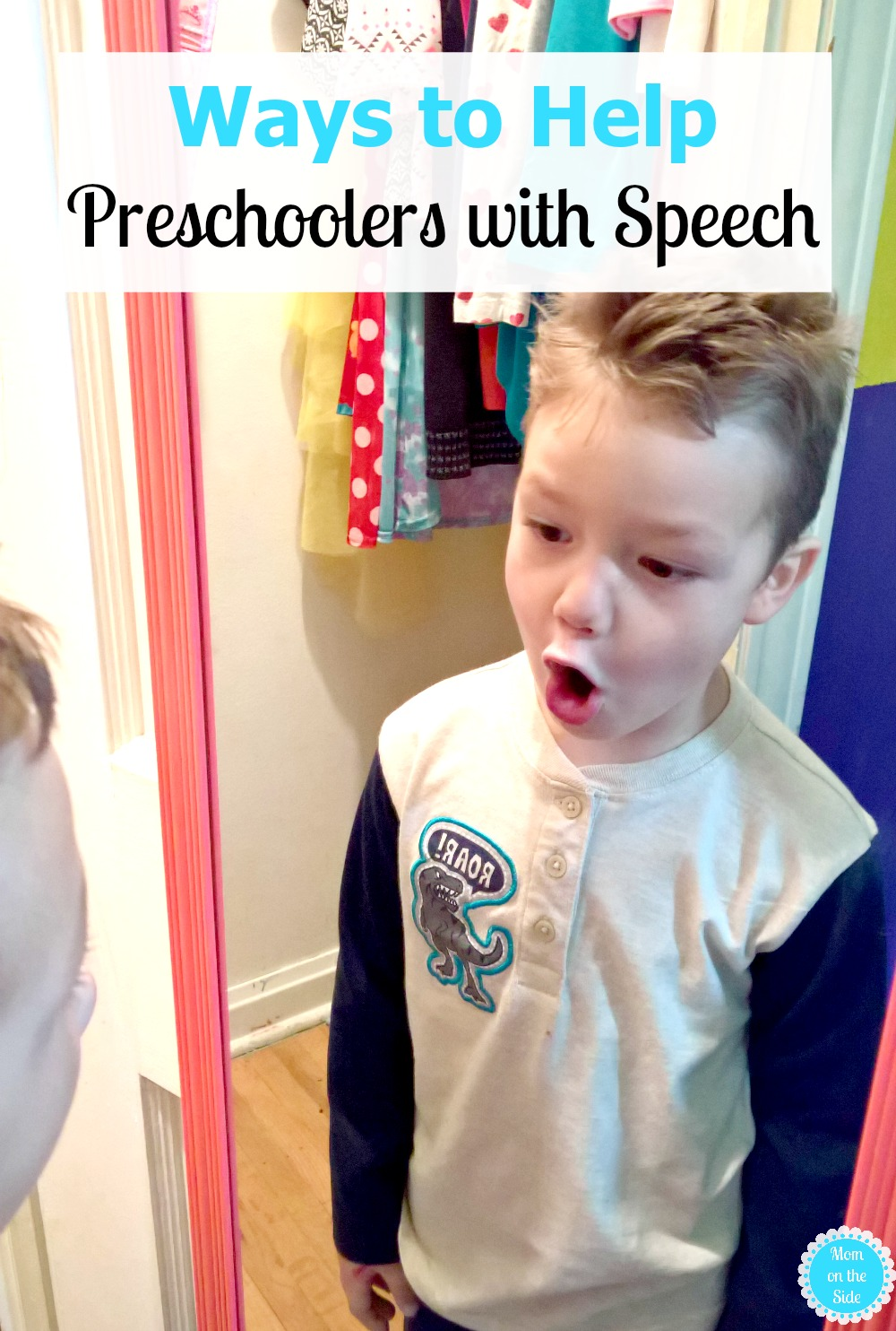 Different ways to help preschoolers with speech at home.