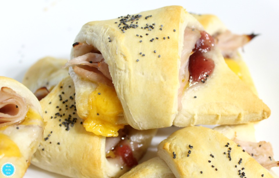 Thanksgsiving Recipe for Cranberry Turkey Cheddar Crescent Rolls