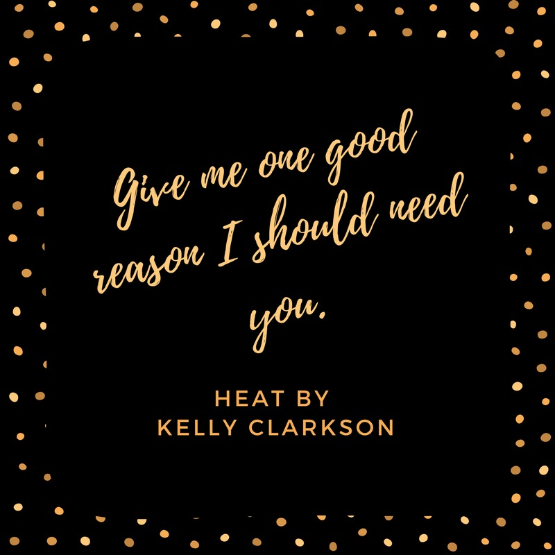 Kelly Clarkson Heat Lyric