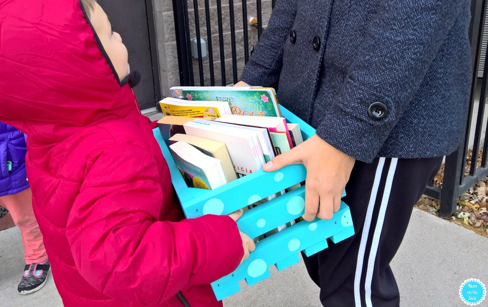 For Family Volunteer Day, make a Bookshare Box Library with your family!