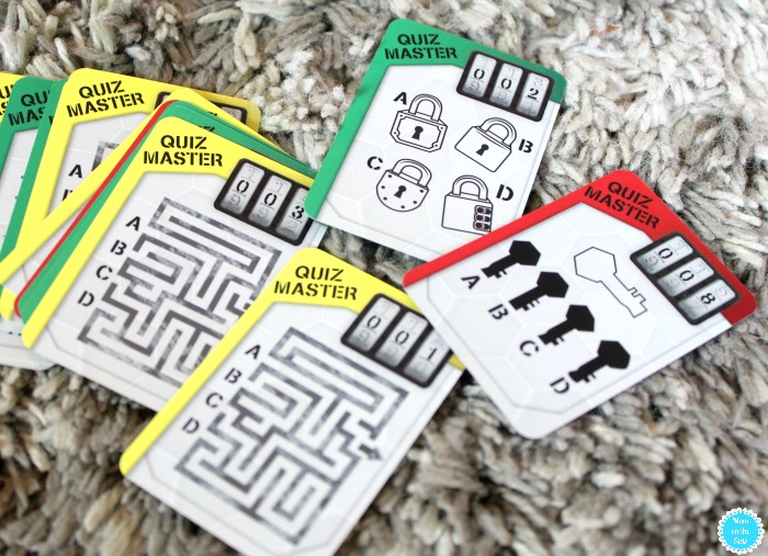 Operation: Escape Game Cards