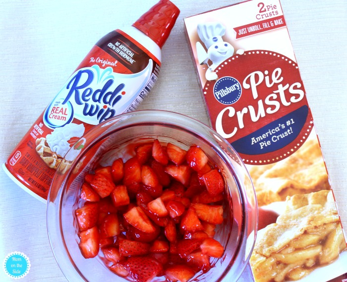 Ingredients for Mini Strawberry Pies