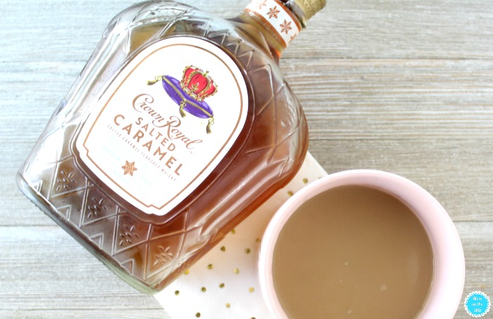 Salted Caramel Crown Royal for Irish Coffee