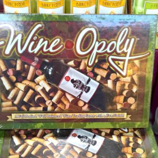Wine-Opoly Monoply Board Game for Adults