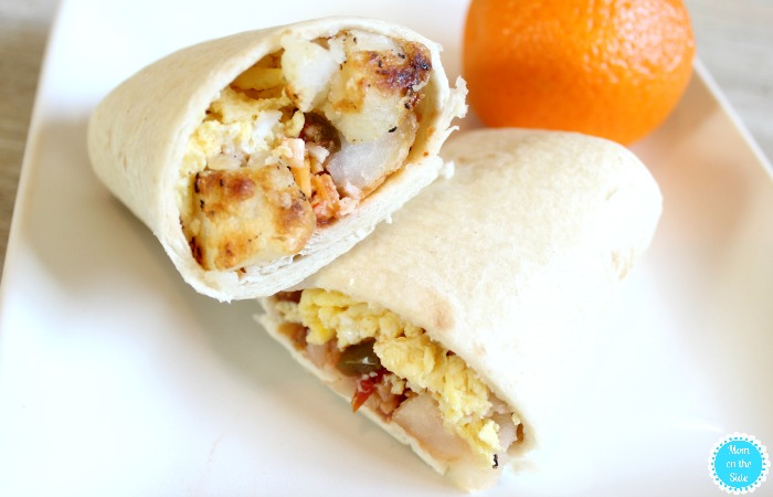 Easy Breakfast Recipe: Bacon, Egg, Potato Breakfast Burritos