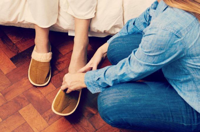 When a situation makes you prepare for the possibility of caregiving