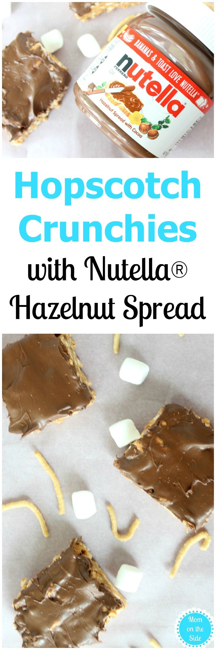 Easy Christmas Cookies: Hopscotch Crunchies with Nutella Hazelnut Spread