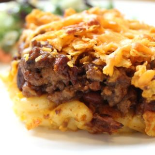 Easy Dinner Recipe: Crunchy Chili Mac Casserole