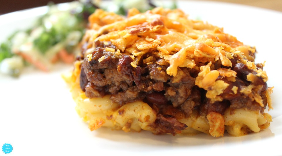 Easy Dinner Recipe: Crunchy Chili Macaroni Casserole