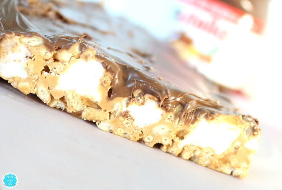 Mom's Favorite Hopscotch Crunchies with Nutella Hazelnut Spread
