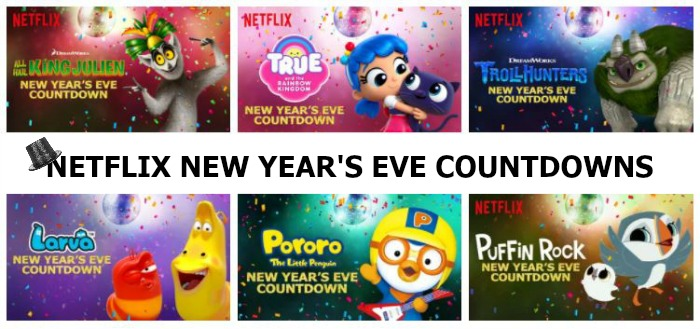 New Netflix New Year's Eve Countdowns for 2017!