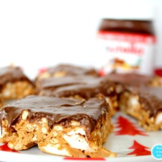 REcipe for Hopscotch Crunchies with Nutella Hazelnut Spreaad