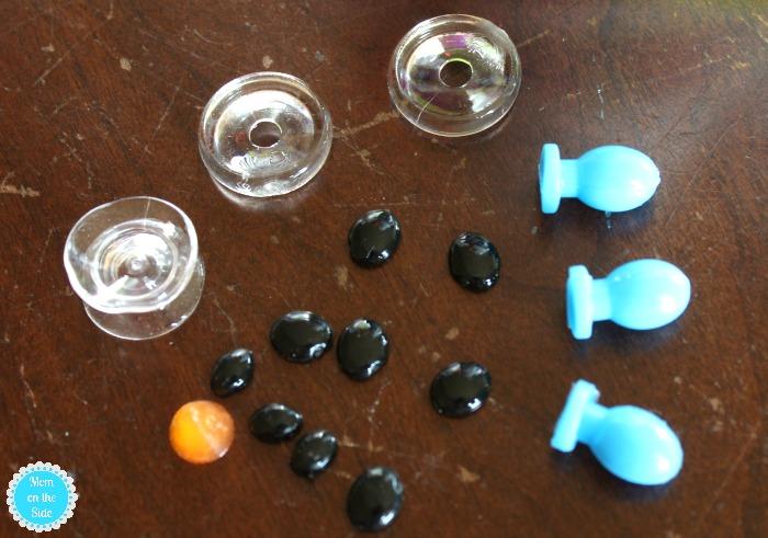 Supplies for Ooniements Snowman