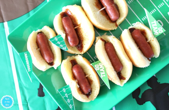 Sideline Spread for Game Day: Little Smokies Dogs