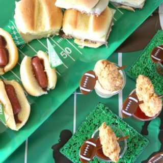 My Deliciously Easy Sideline Spread for Game Day