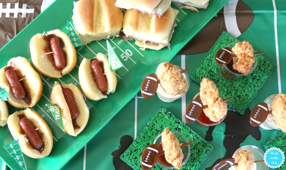 Deliciously Easy Recipes and Sideline Spread for Game Day with Tyson