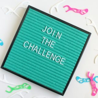 Grab the family and join the Dentek 30 Day Family Floss Challenge