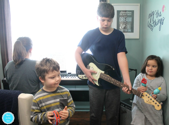 Fender Play for learning guitar at home and making space for music.