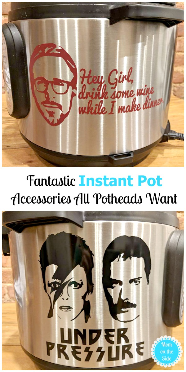 Awesome Instant Pot Acceossories all Potheads Want including Instant Pot Decals, Instant Pot Inserts, and Cookbooks for Instant Pot!