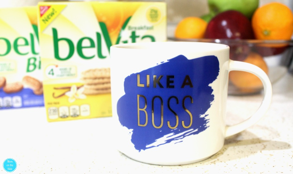 Like A Boss Coffee Cup and New belVita flavors