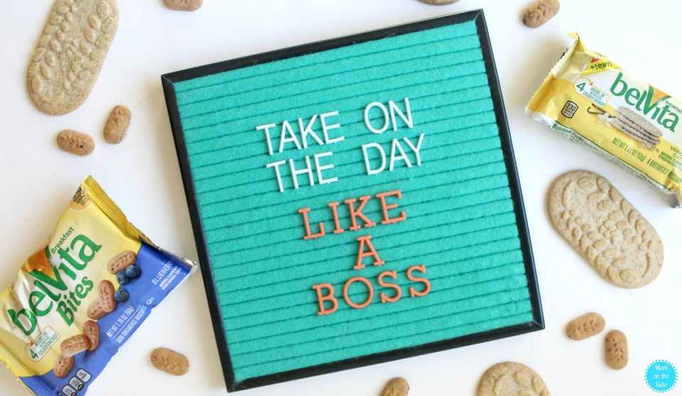 Take on the day like a boss with my morning routine and new belVita Blueberry Bites
