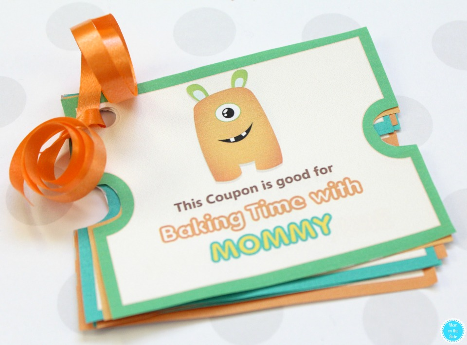 Valentine's Day Gift for Kids: Printable Monster Love Coupons for Kids