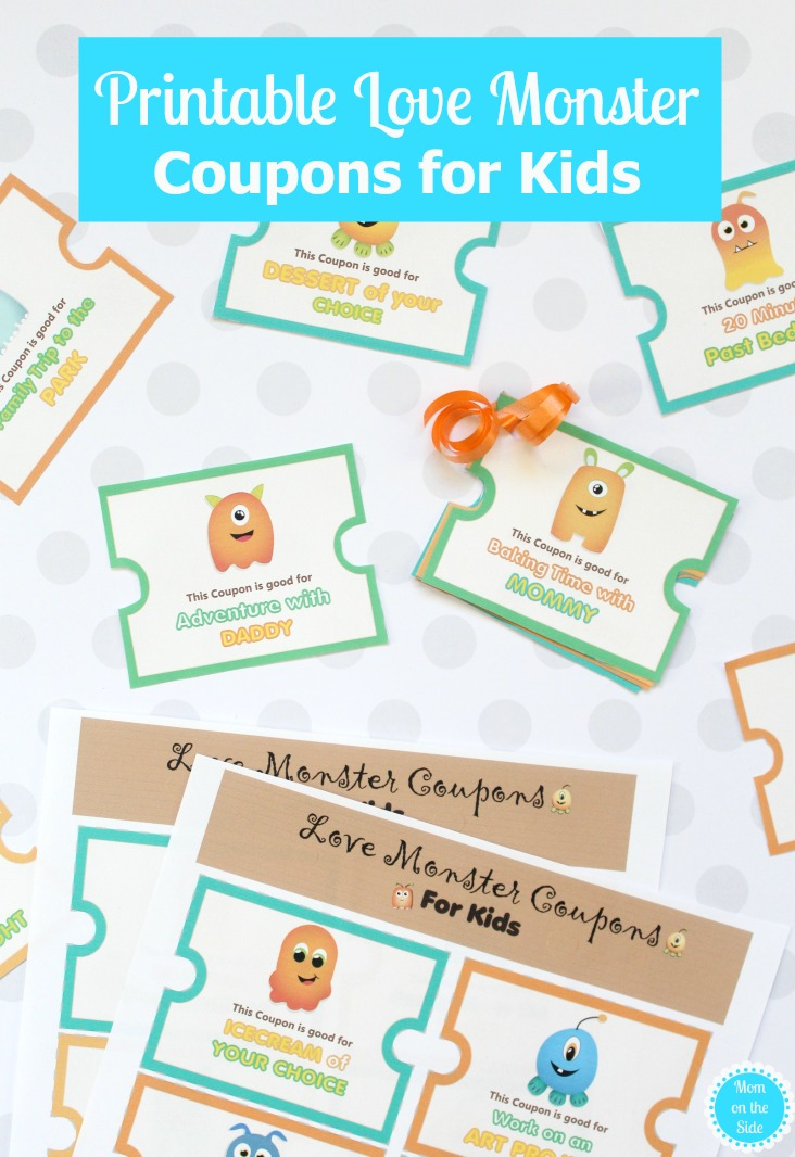 This is a photo of Eloquent Printable Coupons for Kids