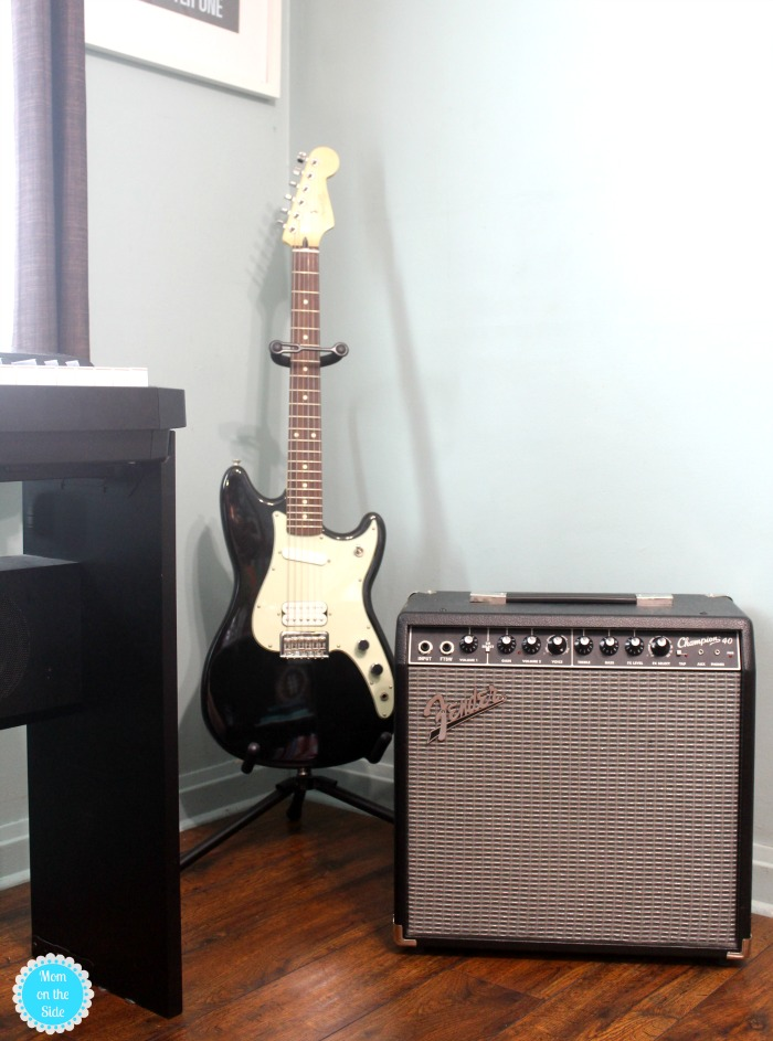 How to Find Space for Making Music at Home and Learning How to Play Guitar with Fender Play