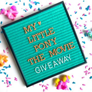 My Little Pony: The Movie Giveaway and Printable BINGO Cards