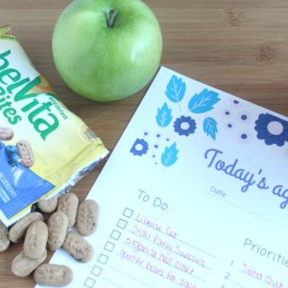 How I take on the day like a boss with my morning routine, printable daily task tracker, and belVita