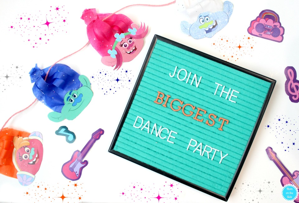 Join the Biggest Dance Party with New Trolls on Netflix and Super Fantastic Trolls Party Ideas