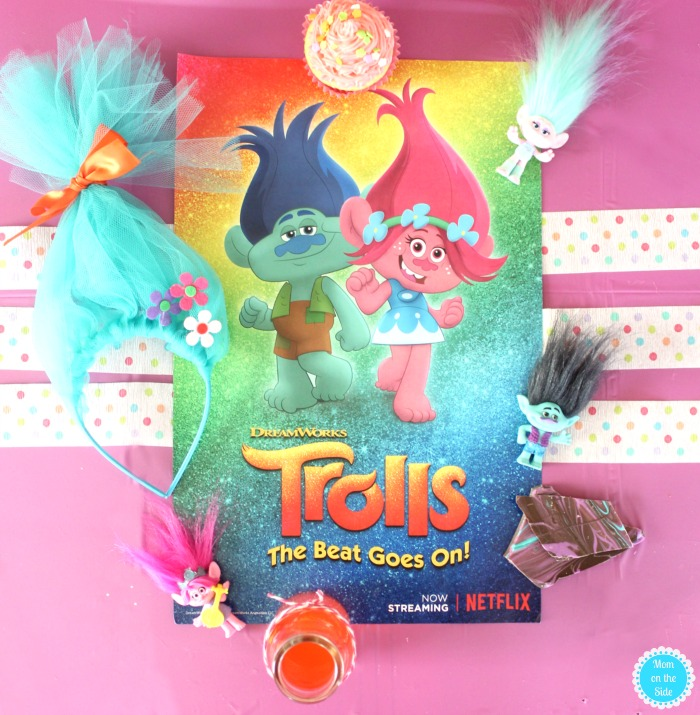 Trolls Party Ideas for food and crafts and New Trolls on Netflix