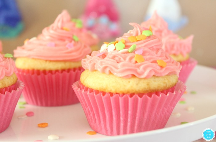 Pinktastic Cupcakes and Trolls Party Ideas for the New Trolls on Netflix