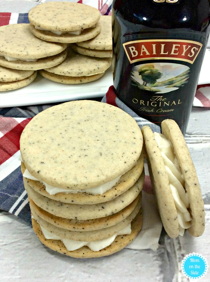 Adult Dessert: Boozy Baileys Coffee Cookies Recipe with Baileys Irish Cream