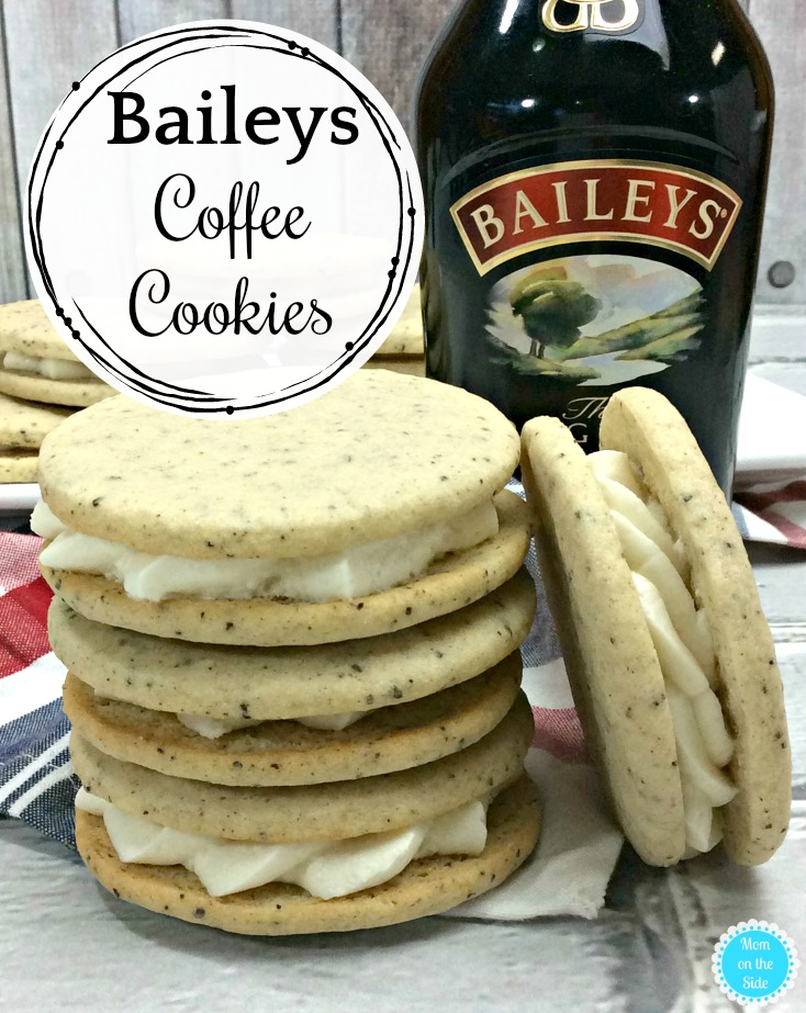 Boozy Dessert Recipe for Adults: Baileys Coffee Cookies