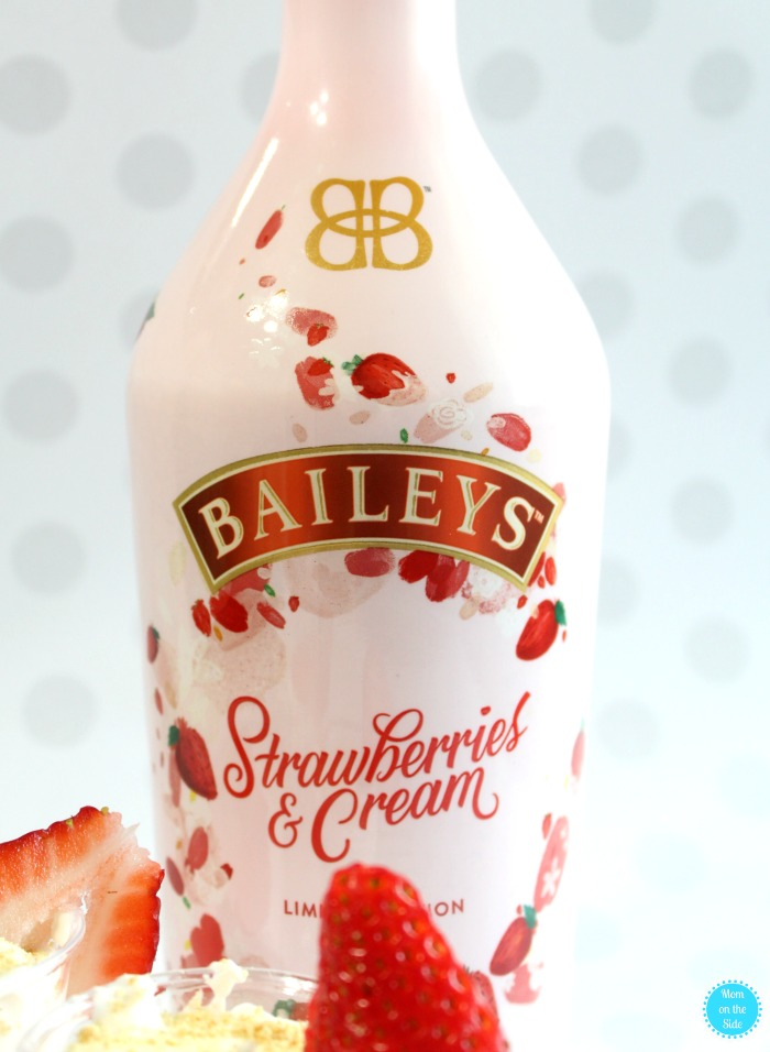Limited Edition Baileys Strawberries and Cream Mousse