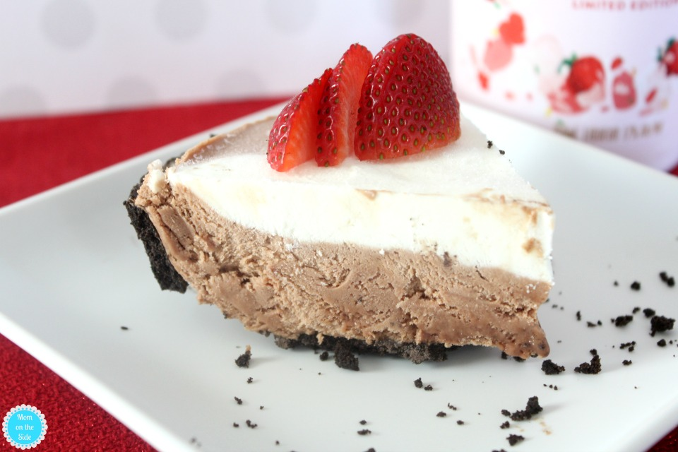 Delicious Adult Dessert: Chocolate Strawberry Freezer Pie Recipe