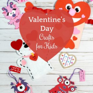 Fun Valentine's Day Crafts for a Kids Valentine's Party