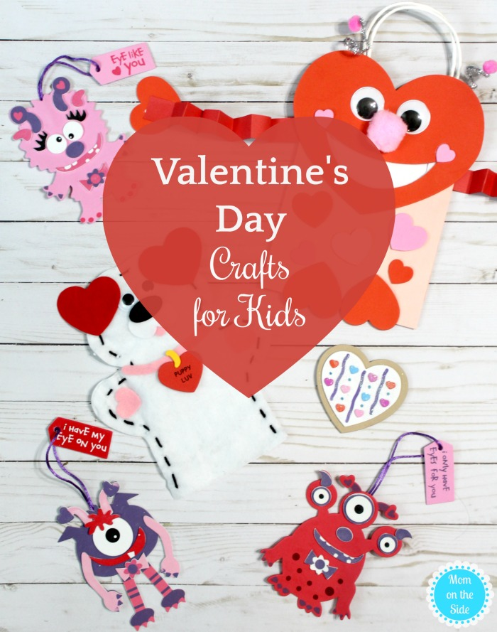 Fun Valentine's Day Crafts for Kids that make great Valentine's Day Party Ideas!